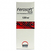 FEROSOFT Sirop 50 mg/5 ml 120 ml
