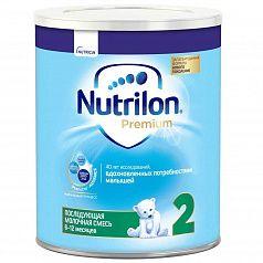 Сухая молочная смесь Nutrilon Premium с Pronutra Advance 2:uz:Pronutra Advance 2 bilan Nutrilon Premium - quruq sut aralashmasi