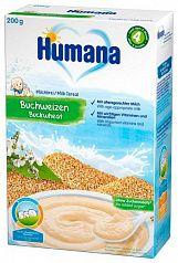 Humana Молочная гречневая каша 200г с 4 месяцев