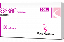 MEZAKAR tabletkalar 200 mg N50