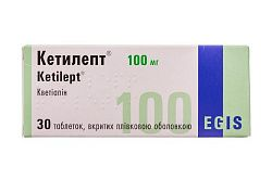 Ketilept tabletkalar 200 mg - 60ta
