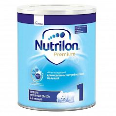Nutrilon Premium с Pronutra Advance 1 – Сухая молочная смесь с рождения до 6 месяцев:uz:Pronutra Advance 1 bilan Nutrilon Premium - 6 oygacha tug'ilish uchun quruq sut aralashmasi