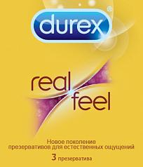 Презервативы Durex Real Feel Gold 3
