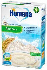 Humana Молочная рисовая каша 200г с 4 месяцев