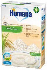 Humana Безмолочная рисовая каша 200г с 4 месяцев