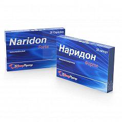 НАРИДОН ФОРТЕ капсулы 840 мг N20