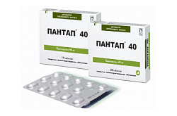 Pantap tabletkalar 40 mg - 28ta