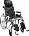Складна инвалидная коляска MT-204 с откидной спинкой