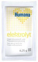 Humana Электролит со вкусом банана с 12 месяцев