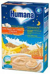 Humana Молочная каша спокойной ночи с бананом 200г с 6 месяцев